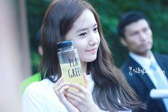 #Yoona #윤아 #ユナ #SNSD #少女時代 #소녀시대 #GirlsGeneration 140927 Innisfree PlayGreen Festival Yoonaya