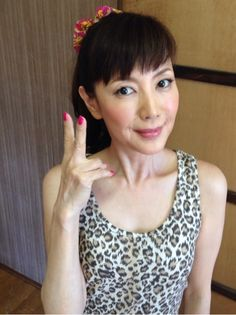 戸田恵子さんのポートレート