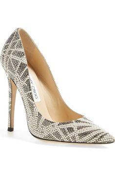Jimmy Choo 'Anouk' Embellished Pointy Toe Pump (Women) available at #Nordstrom