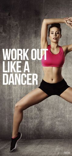 Work out like a dancer to get a total body workout! Popculture.com #dancerworkout #workout #fitness #healthyliving #dancer #dancerbody