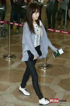 Taeyon's fashion airport