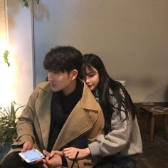 Asian Couple / In Love / Amour / Amore – Mode Ulzzang, Ulzzang Girl, Cute Relationship Goals, Cute Relationships, Couple Relationship, Cute Couples Goals, Couple Goals, Cute Korean, Korean Girl