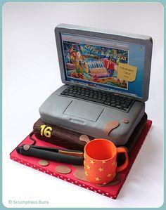 Laptop Cake | Flickr: Intercambio de fotos