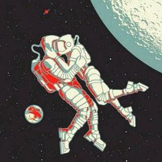 Image about love in space🌟🌙🌚🌌💫✨ by What matters most to you? Astronaut Drawing, Astronaut Illustration, Wallpaper Space, Pink Wallpaper Iphone, Graphic Design Illustration, Illustration Art, Candy Art, Universe Art, Couple Drawings
