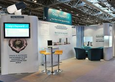 Stall Design for Craig & Hayward. Visit us at http://www.expodisplayservice.ae/