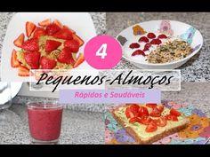 4 Pequenos-Almoços Rápidos e Saudáveis ♥ Regresso às Aulas - YouTube