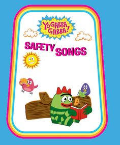 Check out Yo Gabba Gabba Safety Songs to teach your preschooler how to be safe! #NickJr