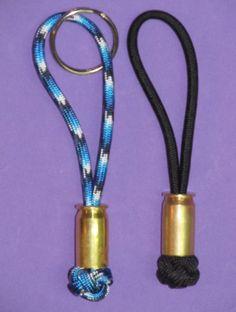 Bullet shell zipper pull... or key ring. by juliesinspiration