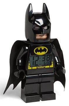 maybe getting up for school won't be so hard with this Batman alarm clock #lego #legomovie love it!!