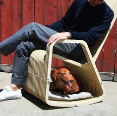 Rocking chair with your best friend? Yes, please.