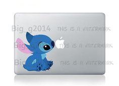 Stitch Sticker Decal Macbook Air Decal Mac Book by AppleStation, $7.90