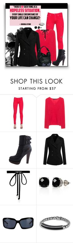 """M.E.S.S.A.G.E 12/18/2016"" by arjanadesign ❤ liked on Polyvore featuring Diesel, 360 Sweater, Bottega Veneta, Joomi Lim, Belk & Co., Chanel and David Yurman"