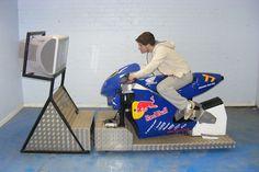 Motorcycle simulator