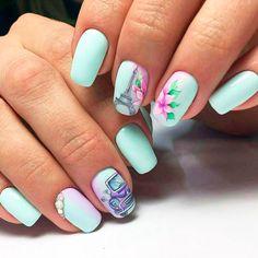 Cute Spring Nails, Bright Summer Nails, Spring Nail Art, Cute Nails, Nail Summer, Nail Art Design Gallery, Best Nail Art Designs, Nail Designs Spring, Design Art
