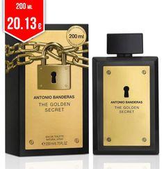 d39cb90771 Perfume Golden Secret Antonio Banderas Masculino Eau de Toilette no Shoptime