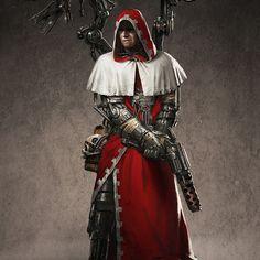 """inoxhammer: """"Carolinus Dracul, Ameen Naksewee https://www.artstation.com/artwork/lL8yV Visit my Etsy Shop: https://www.etsy.com/shop/InoxHammer """""""