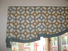 Detail of belle valance.see more - Window Treatment Ideas - Decor, Curtains, Custom Window Treatments, Curtain Designs, Window Design, Drapery Treatments, Soft Furnishings, Window Treatment Styles, Diy Window