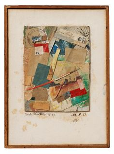 kurt schwitters collage work - Google Search