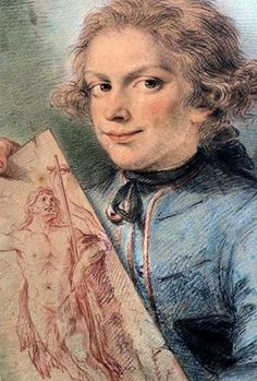Early 19th century portrait of a woman drawing xix xx century art art history pinterest - Cabinet jean charpentier ...