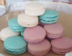 Macarons, Vanilla Cake, Cakes, Desserts, Food, Tailgate Desserts, Deserts, Cake Makers, Kuchen