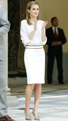 Queen Letizia of Spain's Most Captivating Style Moments - July 21, 2014 from #InStyle