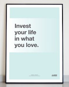 Typographic quote poster Jessica Jackley door TheHumanHappiness, €16.00