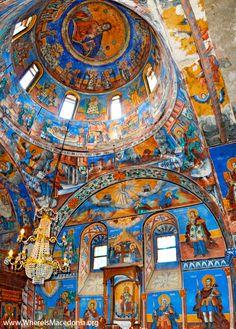Ilija Monastery in Melnica, Mariovo Antigua Yugoslavia, Albania, Macedonia Skopje, Fresco, Republic Of Macedonia, Bulgaria, Sacred Architecture, Scenic Photography, Night Photography