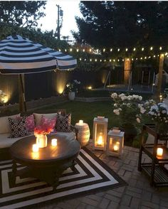 85 Cozy Backyard Patio Deck Design Ideas Nary a backyard retreat is complete without a deck built fo Cozy Backyard, Rustic Backyard, Backyard Retreat, Backyard Landscaping, Landscaping Ideas, Patio Garden Ideas On A Budget, Patio Diy, Patio Ideas, Backyard Ideas