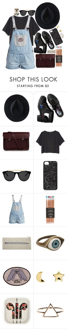 """""""kinda care and kinda not"""" by starscounter394 ❤ liked on Polyvore featuring Ryan Roche, H&M, The Cambridge Satchel Company, Monki, Smoke x Mirrors, Marc by Marc Jacobs, Vans, Thomaspaul, Retrò and Blink"""