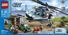 Amazon.com: LEGO City Police 60046 Helicopter Surveillance: Toys & Games