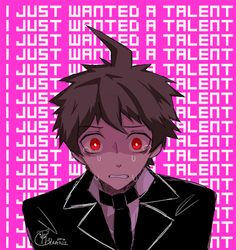 A moment of silence for Hajime: he just wanted to have a talent.