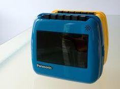 Panasonic Cassette Player in yellow