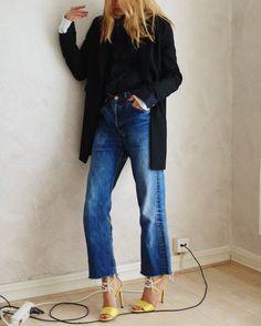On adore les #sandales #bijoux pour féminiser un #look boyish