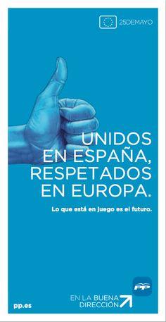Cartel Unidos en España, respetados en Europa