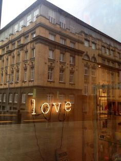 Love in the city Auckland Art Gallery, Neon Signs, City, Design, Cities