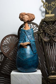 Andrei Pandea Ceramics Ceramic Pottery, Garden Sculpture, Buddha, Statue, Box, Outdoor Decor, Inspiration, Women, Google