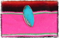 Addy Co Tour - Turquoise Oval Ring, $255.00 (http://www.addycotour.com/turquoise-oval-ring/)