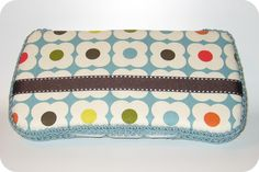 For baby shower gift: DIY wipe holder. homemade by jill: wipes clutch tutorial