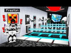 Minecraft ESCAPE THE SPACESHIP! with PrestonPlayz
