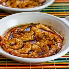 Quick and Easy Spicy Broiled Shrimp is Kalyn's favorite phase one recipe for February.