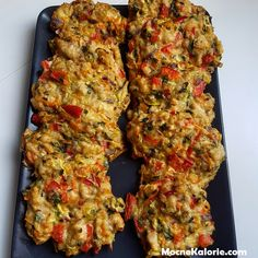 FIT placuszki drobiowe z warzywami i serem - Mocne Kalorie Cooking Recipes, Healthy Recipes, Polish Recipes, Tandoori Chicken, Chicken Recipes, Good Food, Food And Drink, Lunch, Dinner