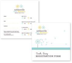 Test Monki, Noblesville Kids Dentistry, dentist, orthodontist, logo, branding, brand identity, tooth fairy, registration form