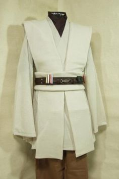 Amazon.com: Star Wars Kenobi Jedi TUNIC Hooded Robe Costume Cosplay Female Size M $95.00