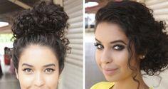Penteados: cacheadas, crespas e afro | Danielle Noce
