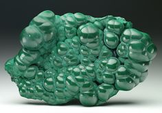 An excellent botryoidal Malachite specimen from Katanga, D R Congo.