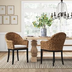 Beautiful Monticello Polyester Blend Upholstered Arm Chair in Brown by Birch Lane? Heritage kitchen dining furniture sale from top store Bamboo Dining Chairs, Dining Chair Set, Dining Room Chairs, Dining Furniture, Side Chairs, Desk Chairs, Beach Furniture, Hooker Furniture, Furniture Sale