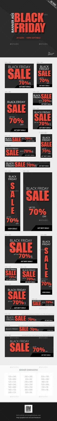 Black Friday Banner Ads Template PSD | Buy and Download: http://graphicriver.net/item/black-friday-banner-ads/9452451?WT.oss_phrase=&WT.oss_rank=8&WT.z_author=bmdezzin&WT.ac=search_thumb&ref=ksioks