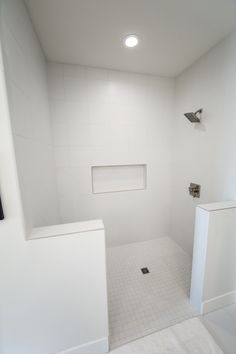 Master Bathroom Walk-In Shower - Our latest custom home (4/3/17)
