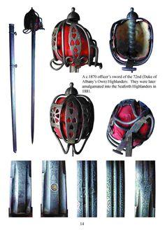 scottish-1828-pattern-broadsword of the 72nd Highlanders c1870.