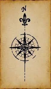 Resultat d'imatges de compass tattoo